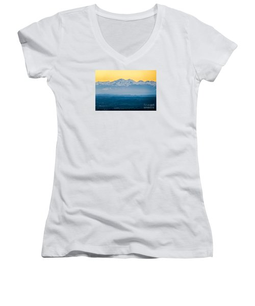 Mountain Scenery 7 Women's V-Neck