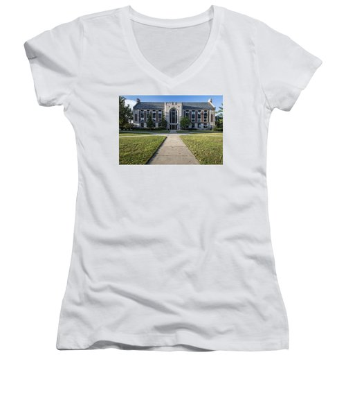 Msu Campus Summer Women's V-Neck