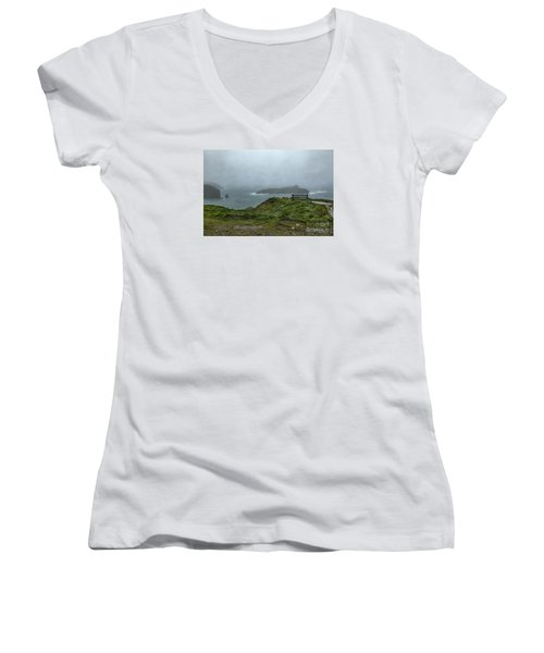 Mullion Cove Women's V-Neck T-Shirt