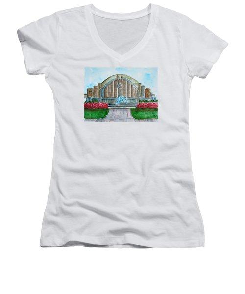 Museum Center Women's V-Neck T-Shirt
