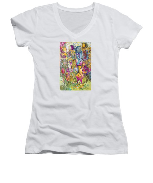 My Garden Women's V-Neck T-Shirt