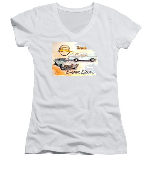 My Girl Women's V-Neck