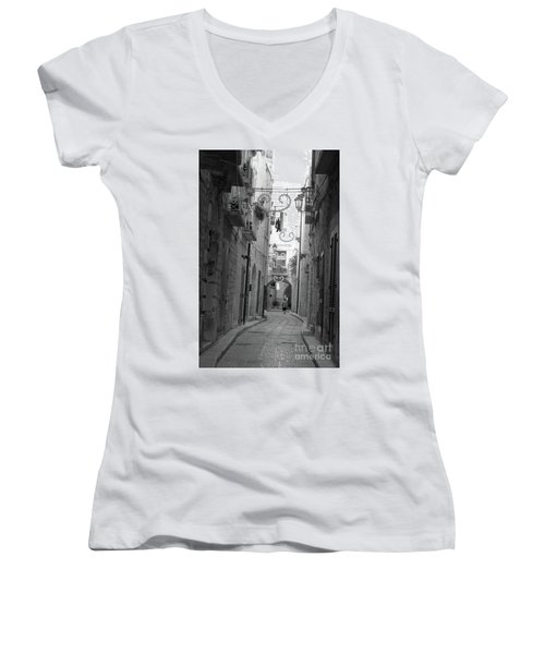 My Old Town Women's V-Neck (Athletic Fit)