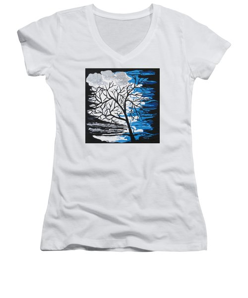 Mystic Night Women's V-Neck