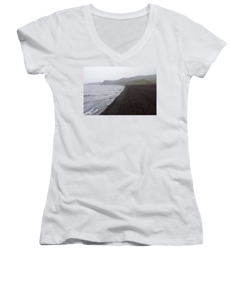 Women's V-Neck featuring the photograph Mystical Island - Healing Waters 3 by Matthew Wolf