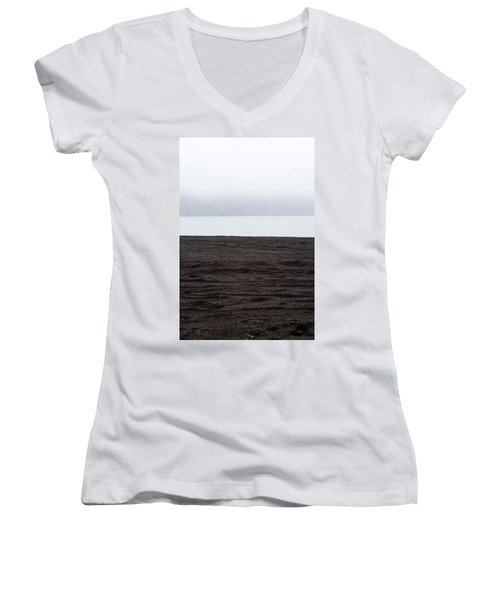 Women's V-Neck featuring the photograph Mystical Island - Healing Waters 4 by Matthew Wolf