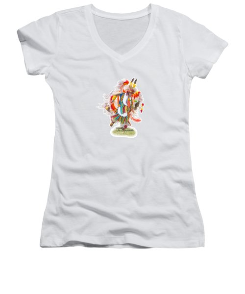 Native Rhythm Women's V-Neck