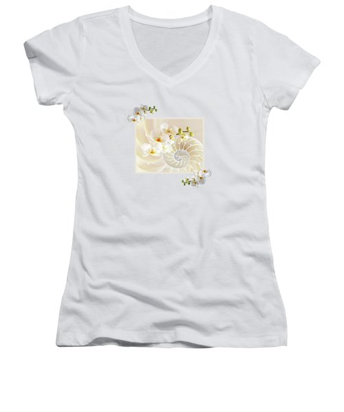 Natural Fusion Women's V-Neck T-Shirt