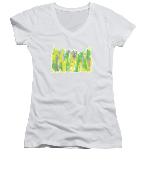 Nature - Abstract Women's V-Neck