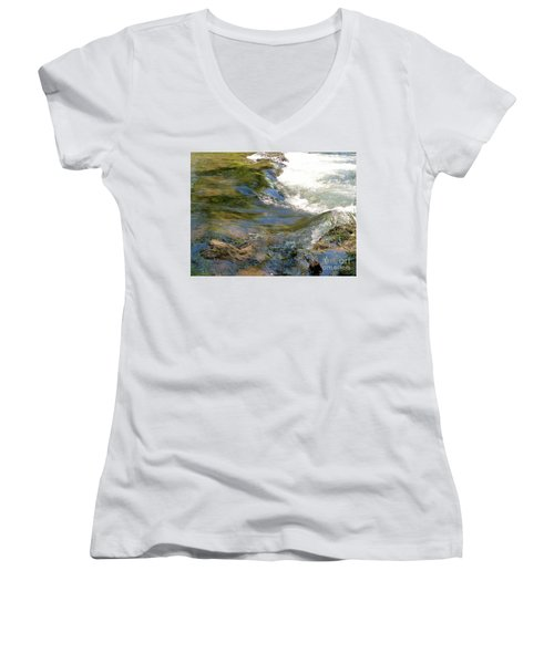 Nature's Magic Women's V-Neck