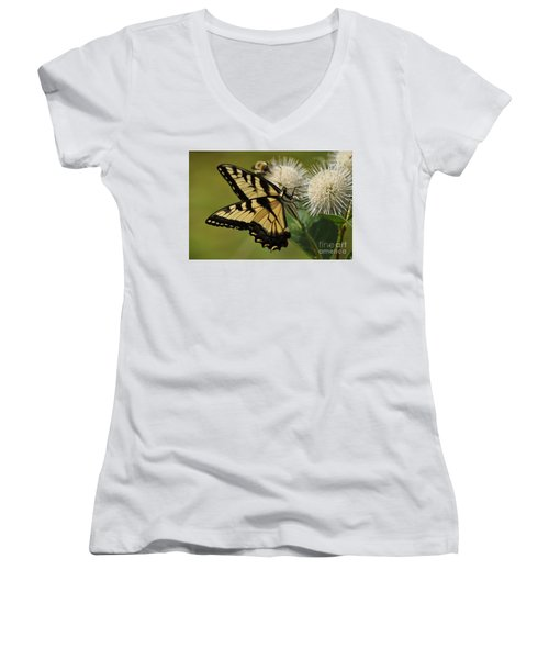 Natures Pin Cushion Women's V-Neck T-Shirt