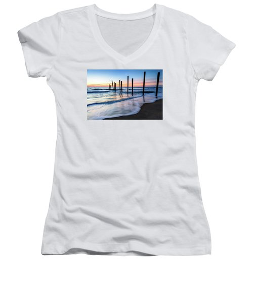 Nautical Morning Women's V-Neck