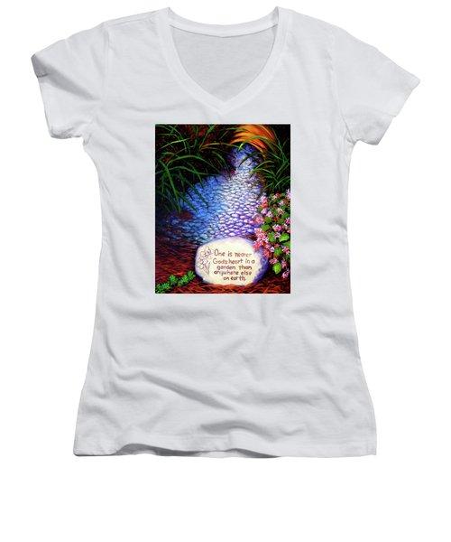 Garden Wisdom, Nearer Women's V-Neck