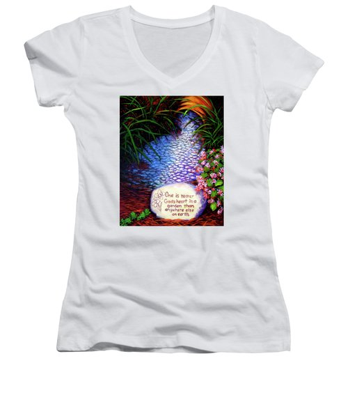 Garden Wisdom, Nearer Women's V-Neck