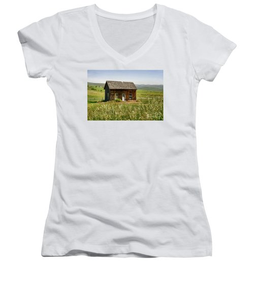 Nephi Moss Cabin Women's V-Neck (Athletic Fit)