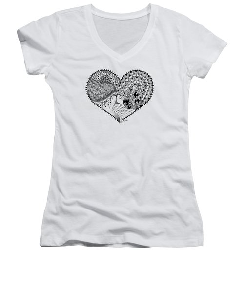 New Beginning Women's V-Neck (Athletic Fit)
