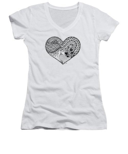 New Beginning Women's V-Neck T-Shirt (Junior Cut)