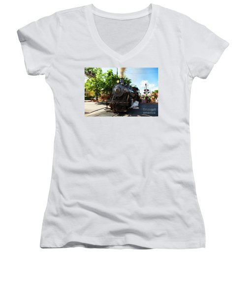 New Hope And Ivyland Railroad  Women's V-Neck