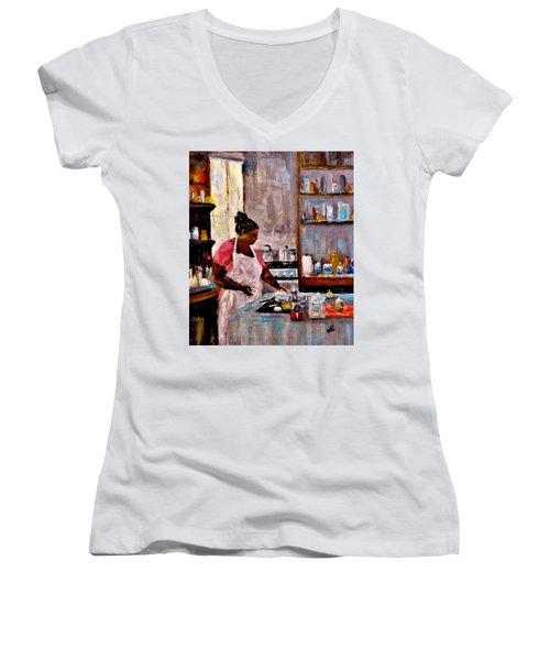 New Recipe.. Women's V-Neck T-Shirt