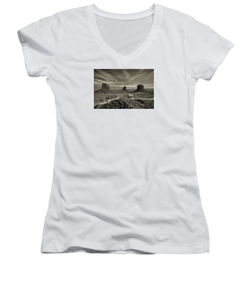 Monument Valley 9 Women's V-Neck (Athletic Fit)