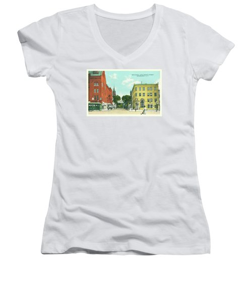 Newburgh Broadway - 10 Women's V-Neck (Athletic Fit)