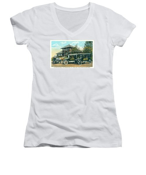 Newburgh Downing Park - 22 Women's V-Neck (Athletic Fit)