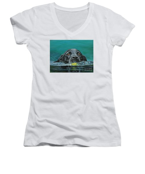 Next Time You Fetch It  Women's V-Neck T-Shirt