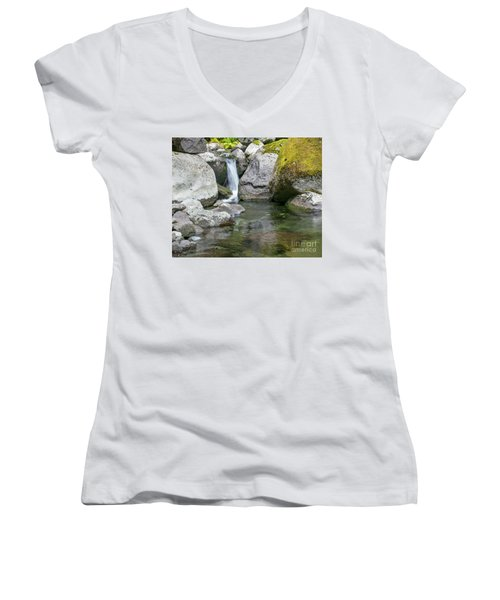 Nickel Creek 1019 Women's V-Neck T-Shirt
