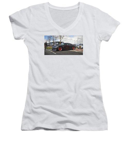 Nissan Gt-r Women's V-Neck