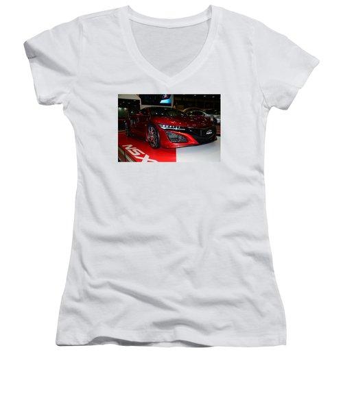 Honda Nsx Women's V-Neck T-Shirt