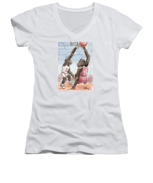 No No No Women's V-Neck T-Shirt