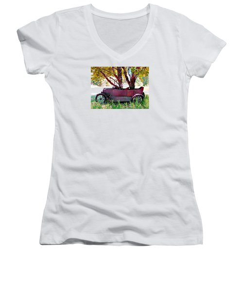 No Parking #2 Women's V-Neck T-Shirt