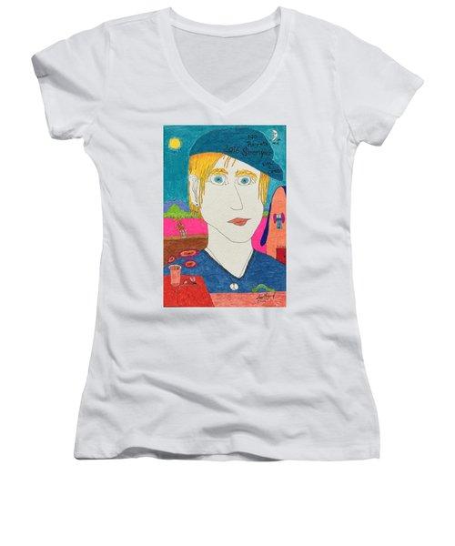 No Ragrets Women's V-Neck T-Shirt