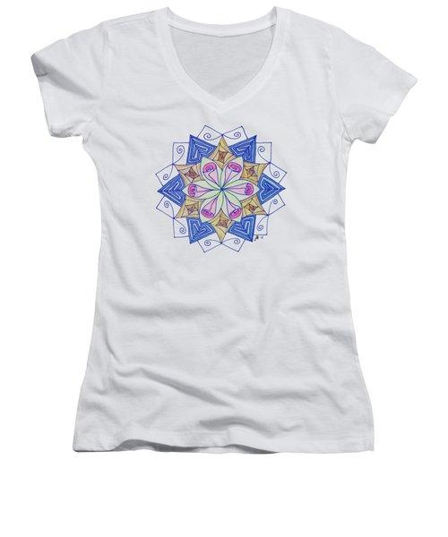 No Summer Women's V-Neck T-Shirt (Junior Cut) by Lori Kingston