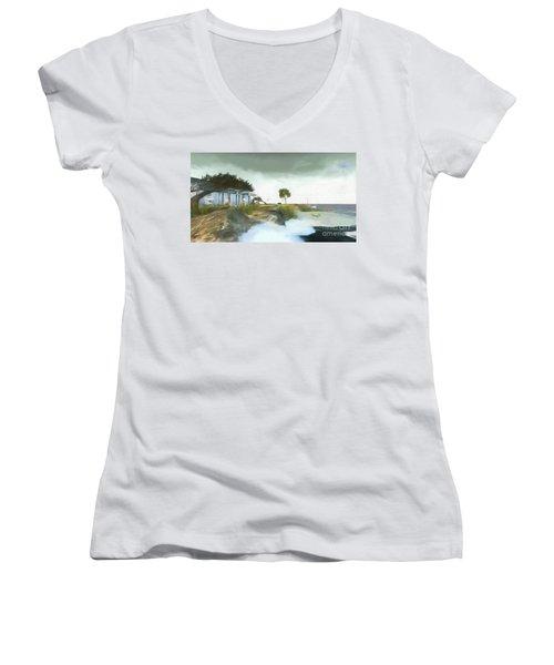 Noredney 3 Women's V-Neck T-Shirt