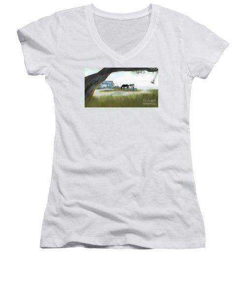 Noredney 4 Women's V-Neck T-Shirt