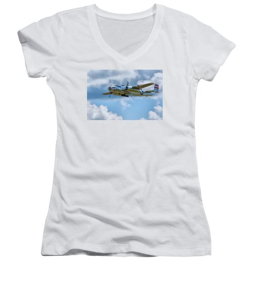 North American B-25 Mitchell Women's V-Neck