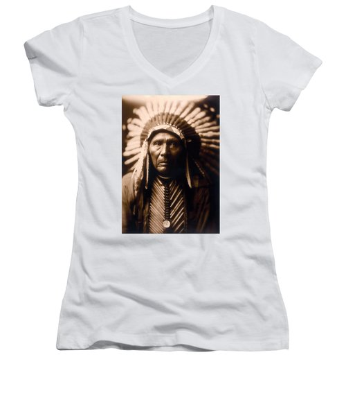 North American Indian Series 2 Women's V-Neck