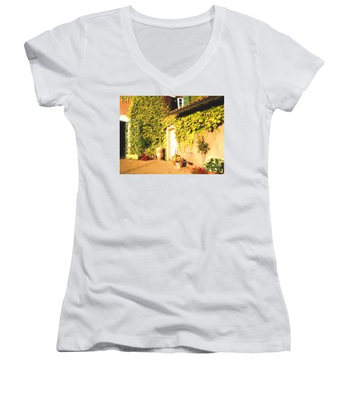 Northern California Winery Women's V-Neck