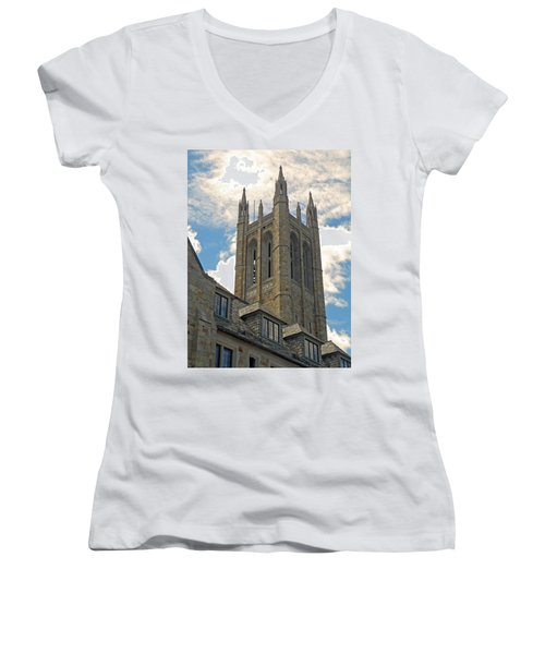 Norwood Town Hall Women's V-Neck T-Shirt