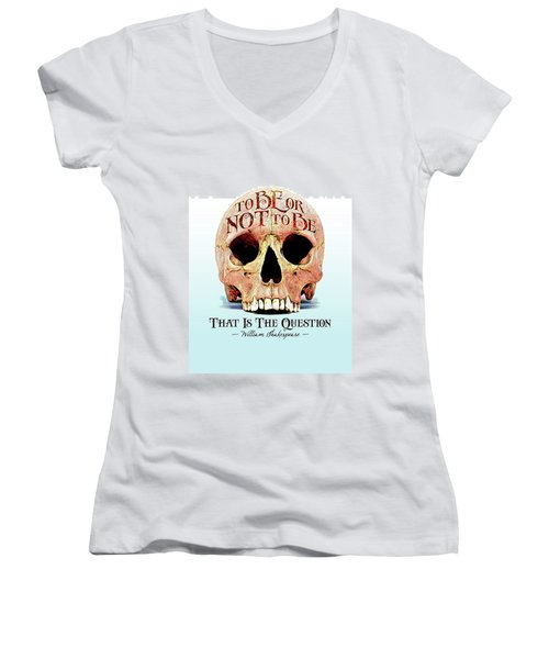 Not To Be Women's V-Neck T-Shirt (Junior Cut) by Gary Grayson