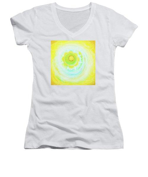 Nourishing  Women's V-Neck T-Shirt