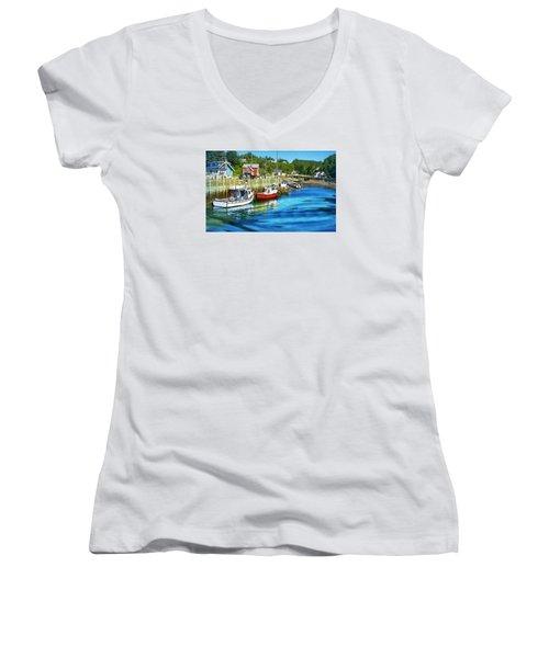 Nova Scotia Women's V-Neck T-Shirt