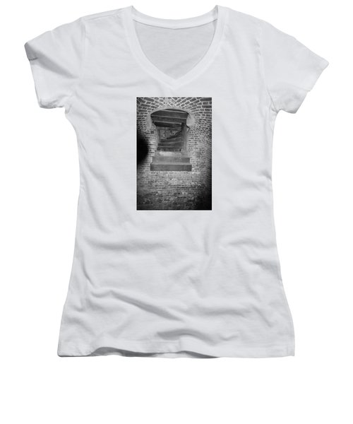 Nowhere Stair Women's V-Neck (Athletic Fit)