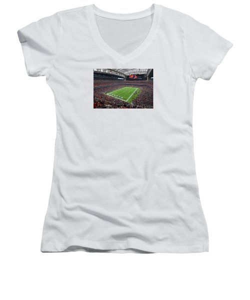 Nrg Stadium - Houston Texans  Women's V-Neck