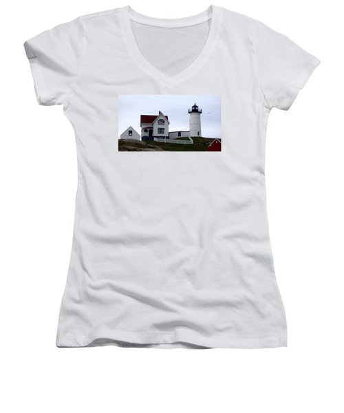 Nubble Light Women's V-Neck T-Shirt