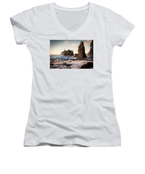 Ocean Spire Signature Series Women's V-Neck T-Shirt