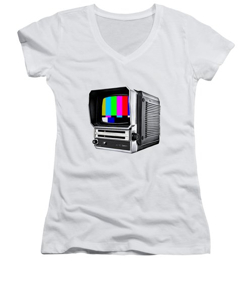 Off Air Tee Women's V-Neck (Athletic Fit)