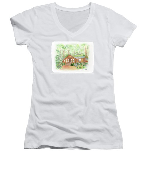 Office In The Park Women's V-Neck