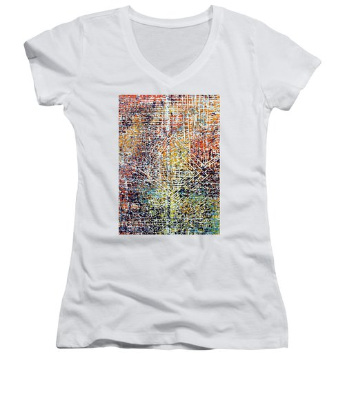 19-offspring While I Was On The Path To Perfection 19 Women's V-Neck (Athletic Fit)